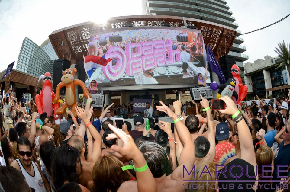 That's the kinda party we're talking about. Photo courtesy of Marquee Dayclub.