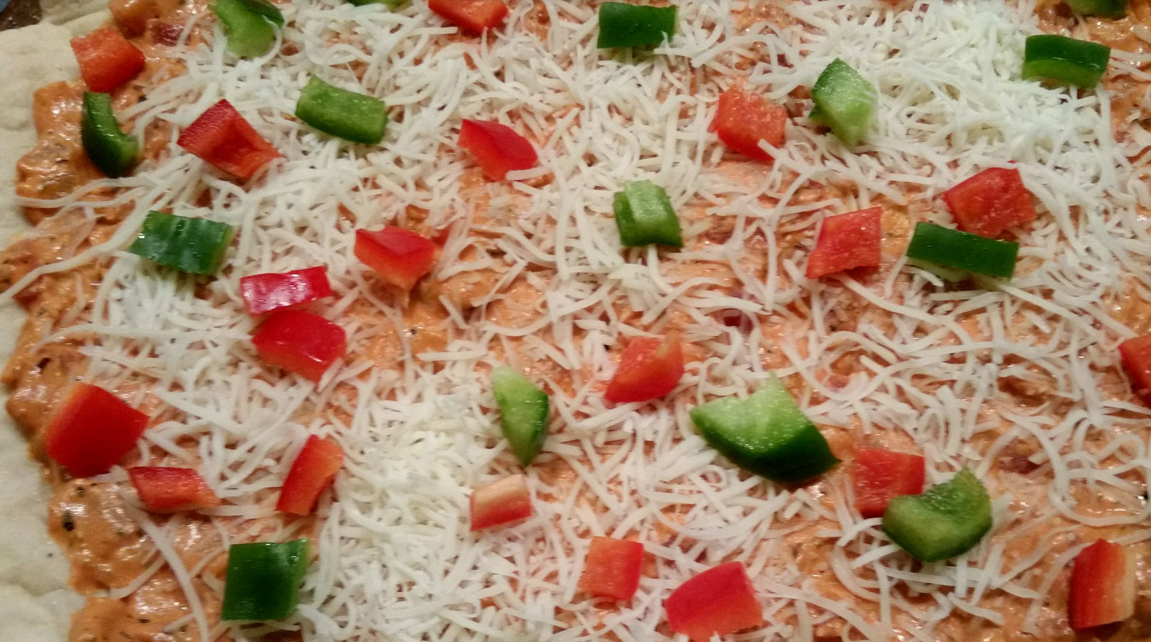 Flamingo Pizza, courtesy of What's for Dinner Moms?