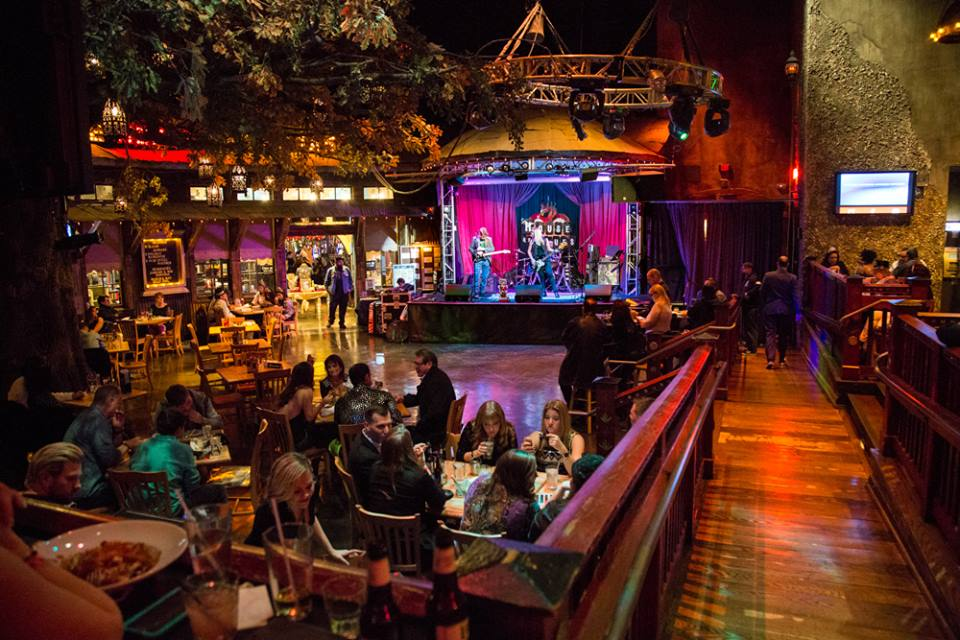 """Table for one. And if you could just seat me in that big open area where everyone can see my loneliness, that would be great. Thanks."" Photo courtesy of House of Blues."