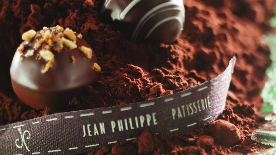 Chocolates at Jean Philippe Patisserie, photo courtesy of Bellagio.