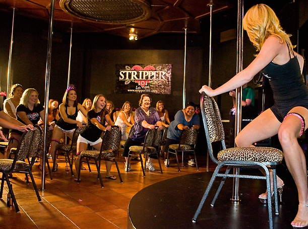 Stripper 101 at Planet Hollywood