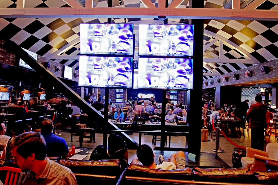 Football + beer + burgers + Vegas. There's no equal. Just endless pluses. Photo courtesy of Umami Burger.
