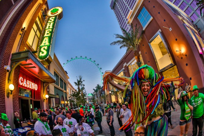 Party the way St. Patrick would want in Las Vegas