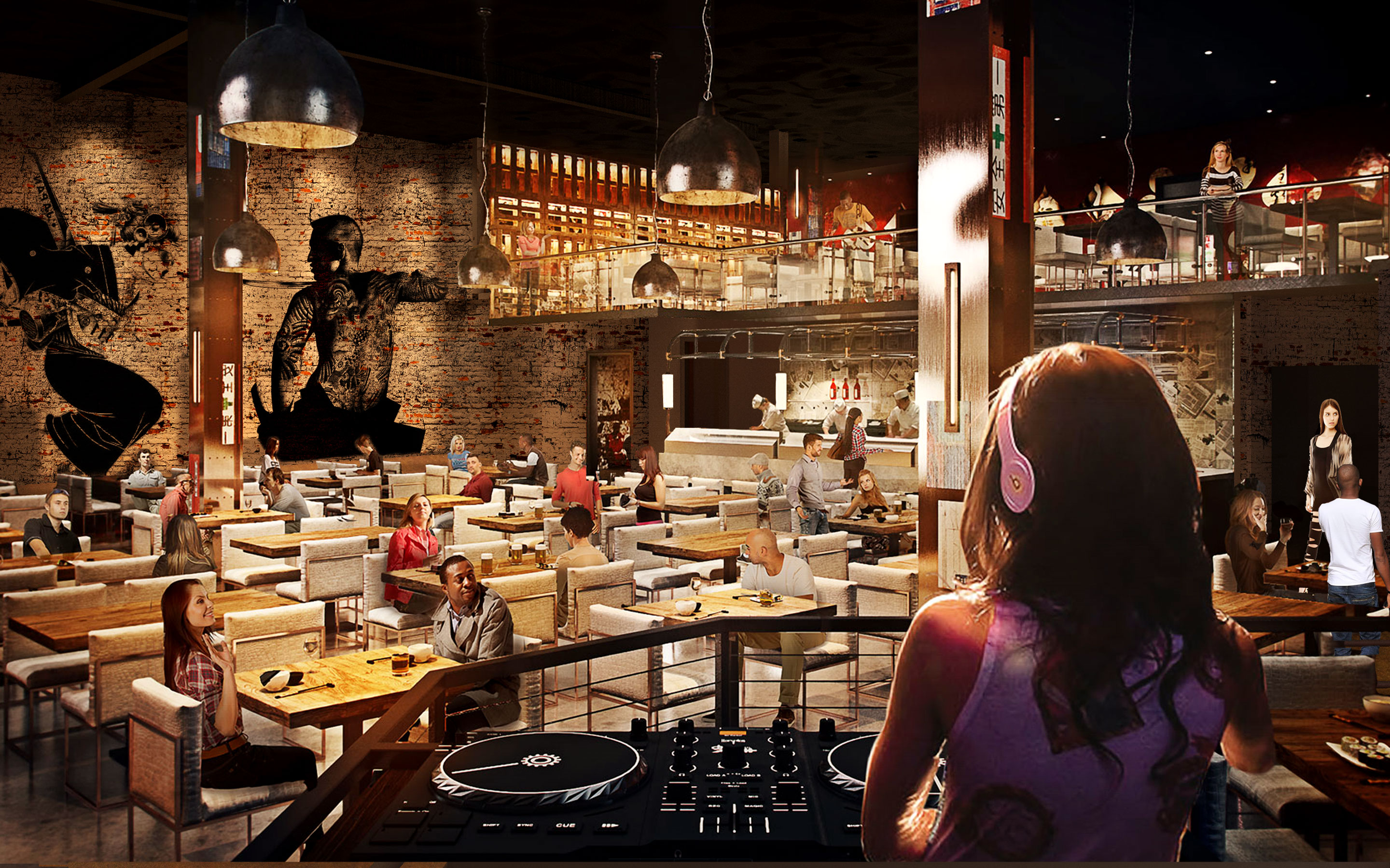 Sake Rok will feature a mix of dining and entertainment. Photo courtesy of Sake Rok.