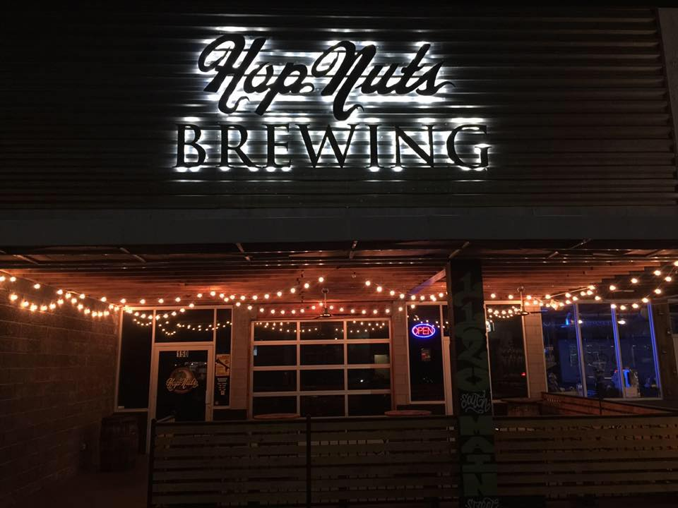 You could be singing or doing poetry on the other side of that door. Think about it. Photo courtesy of Hop Nuts.