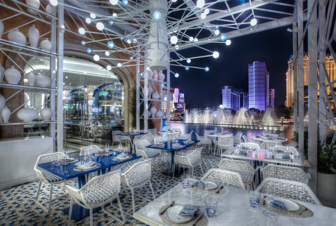 Great The Patio At Lago Overlooks The Bellagio Fountains, Photo Courtesy Of  Bellagio.