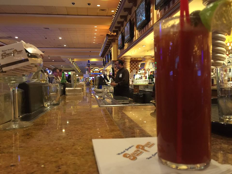 Great deals on bloody marys, for anyone who actually likes bloody marys. Photo courtesy of South Point.