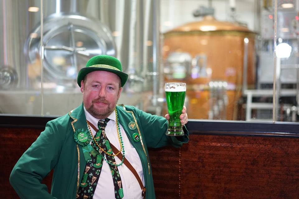 If the beer is still green be sure to contact someone. It should be back to normal beer color by now. Photo courtesy of Ellis Island.