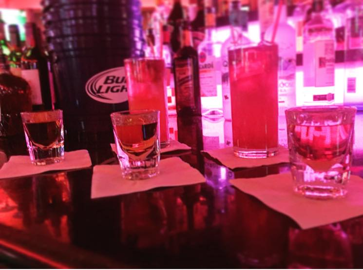 You can afford to buy all of these drinks. Photo courtesy of Stratosphere.