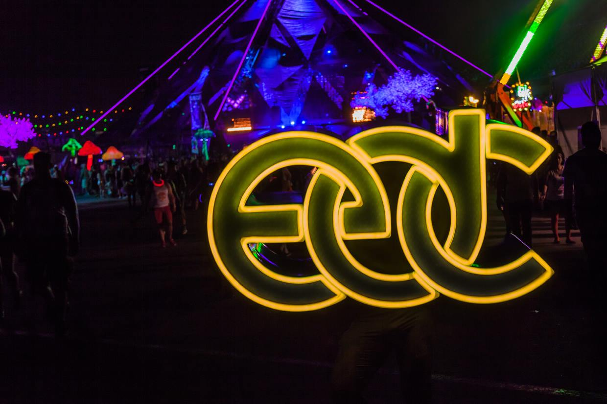 EDC Week is kicking off. Photo courtesy of Alonzo Wright and Vegas.com.