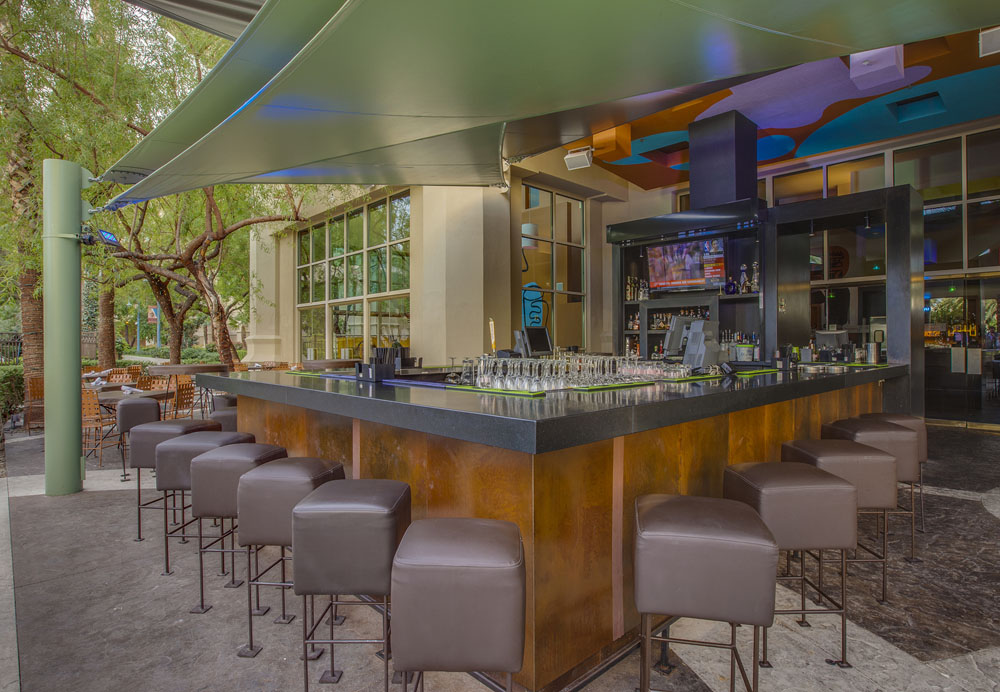 Border Grill's outdoor patio at Mandalay Bay, photo courtesy of Border Grill.