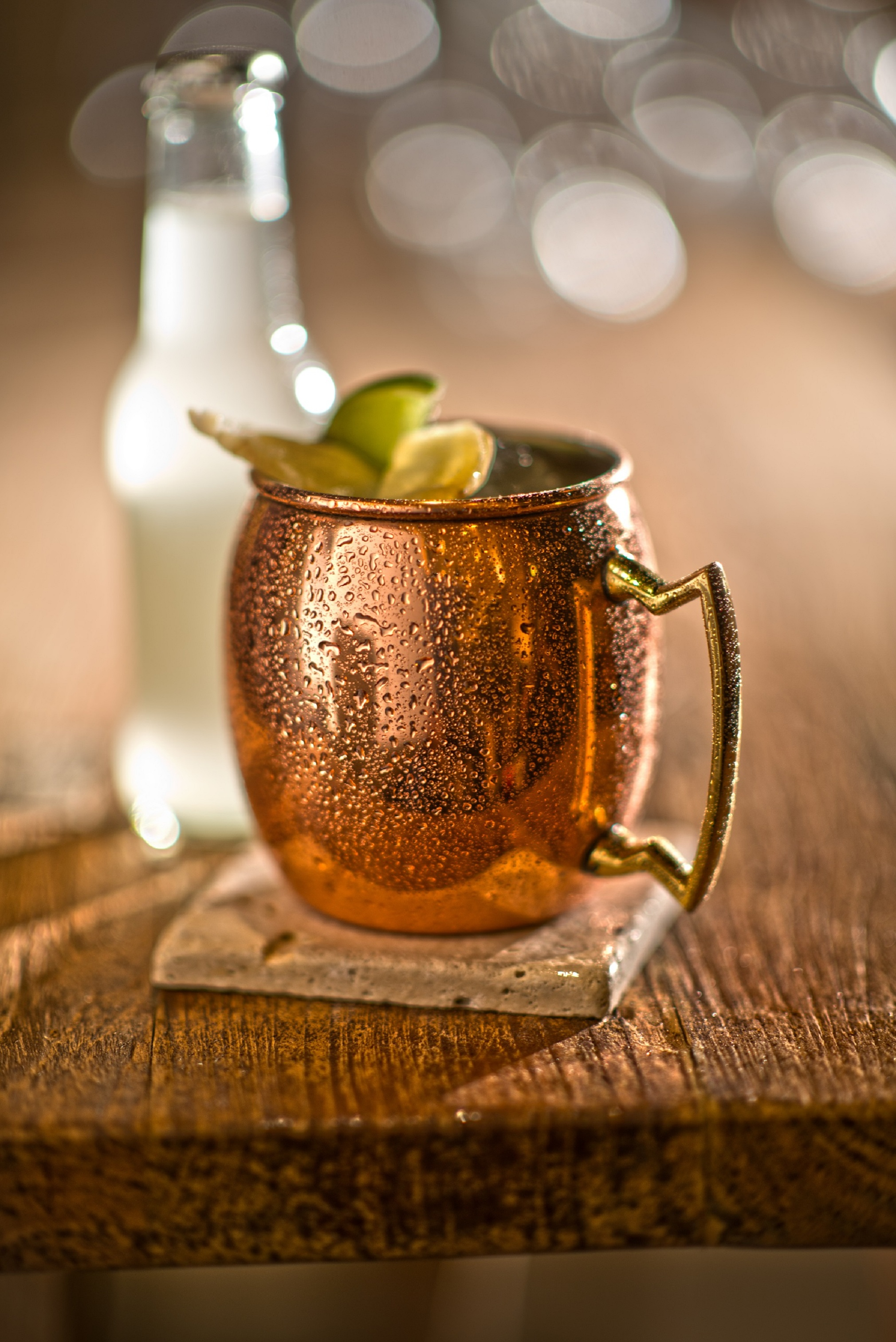 Sip on a Kentucky Mule at La Cave while you watch the Derby. Photo courtesy of La Cave.