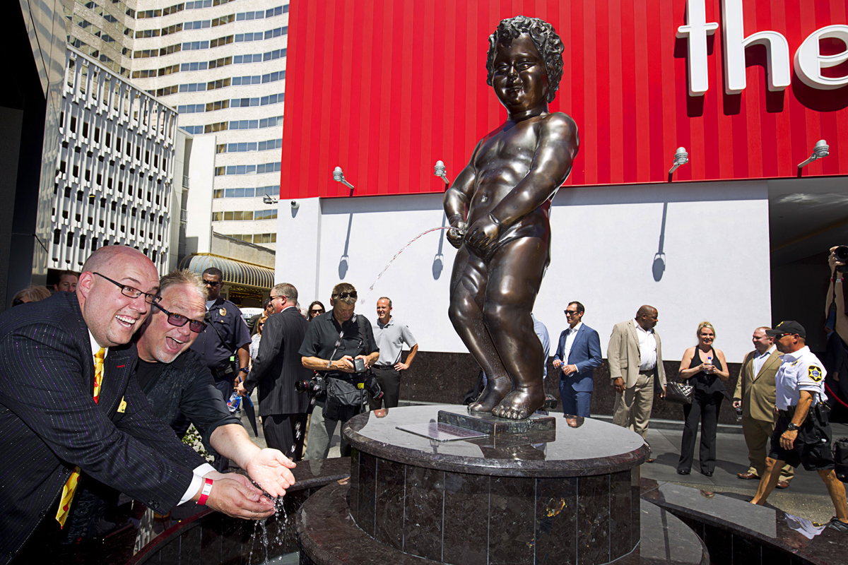 Manneken Pis photo courtesy of The D Las Vegas.