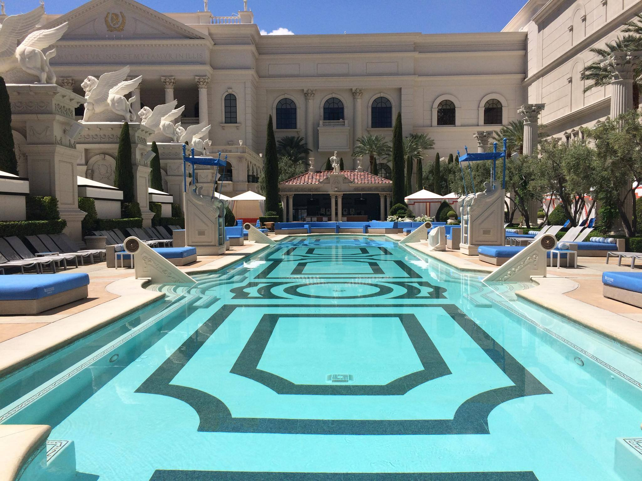 VENUS European Pool photo courtesy of Caesars.