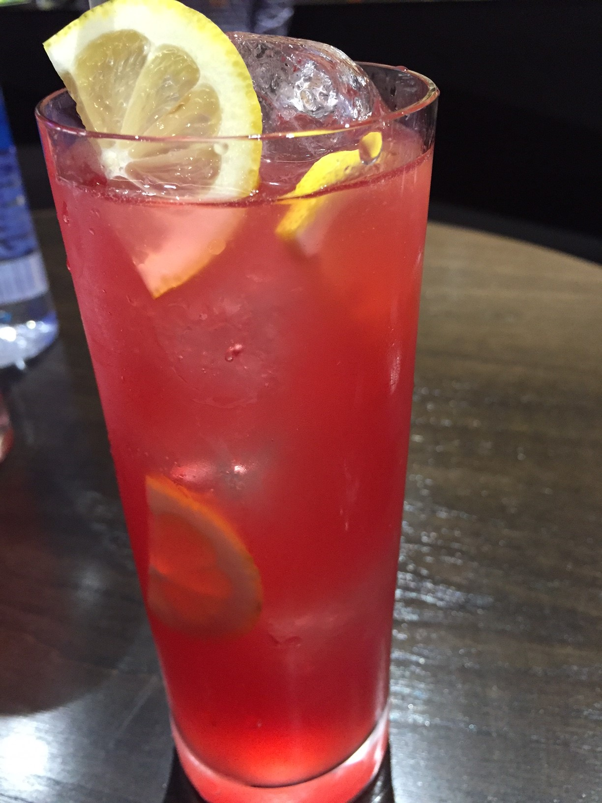 The signature Atomic Fizz cocktail at T-Mobile Arena. Photo by Kristine McKenzie.