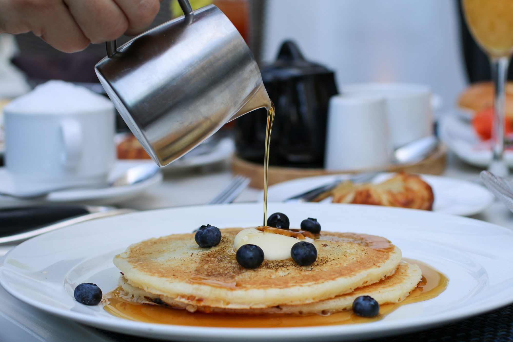Treat Mom to pancakes for Mother's Day brunch at The Barrymore, photo courtesy of The Barrymore.