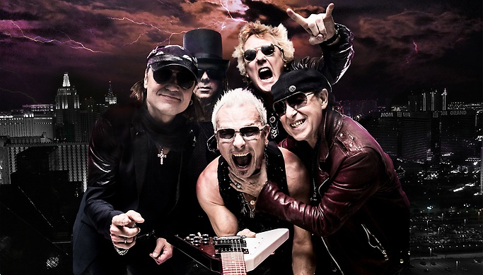 The Scorpions will be rocking The Joint, photo courtesy of Vegas.com.