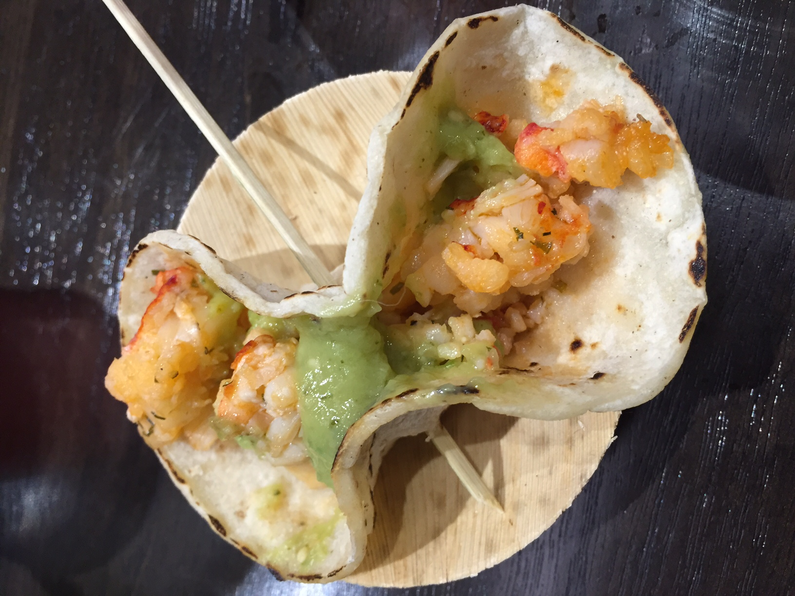 Pair your mojito with a lobster taco at T-Mobile Arena. Photo by Kristine McKenzie.