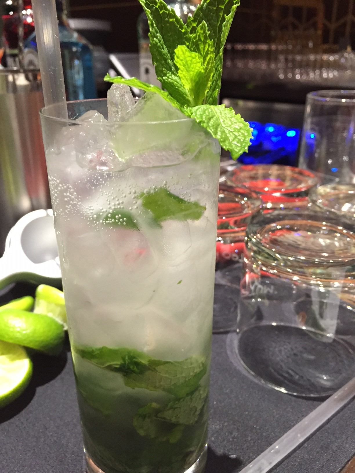 Indulge in a fresh mojito at T-Mobile Arena. Photo by Kristine McKenzie.