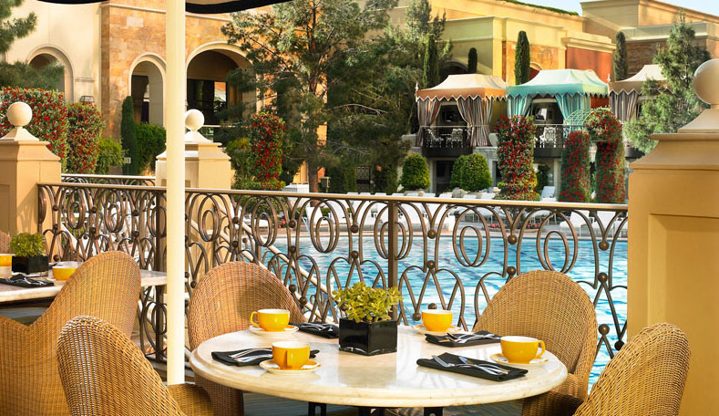 Terrace Point Cafe, photo courtesy of Wynn Las Vegas.