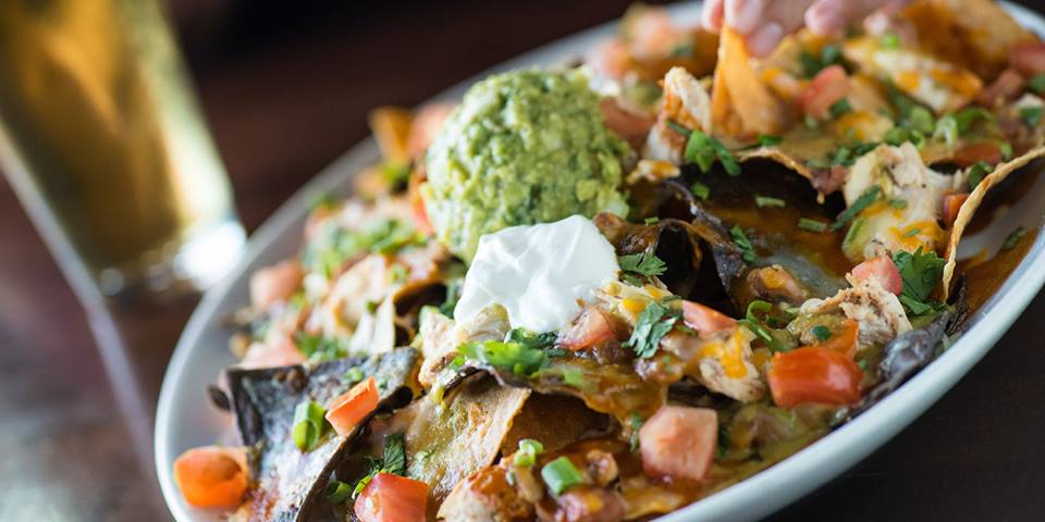 It's not a bar food list until it's got nachos. Photo courtesy of Yard House.