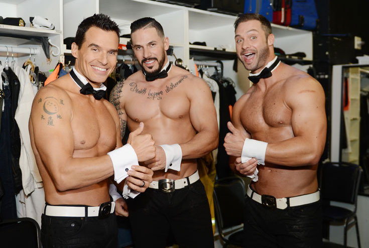 how long is the chippendales show