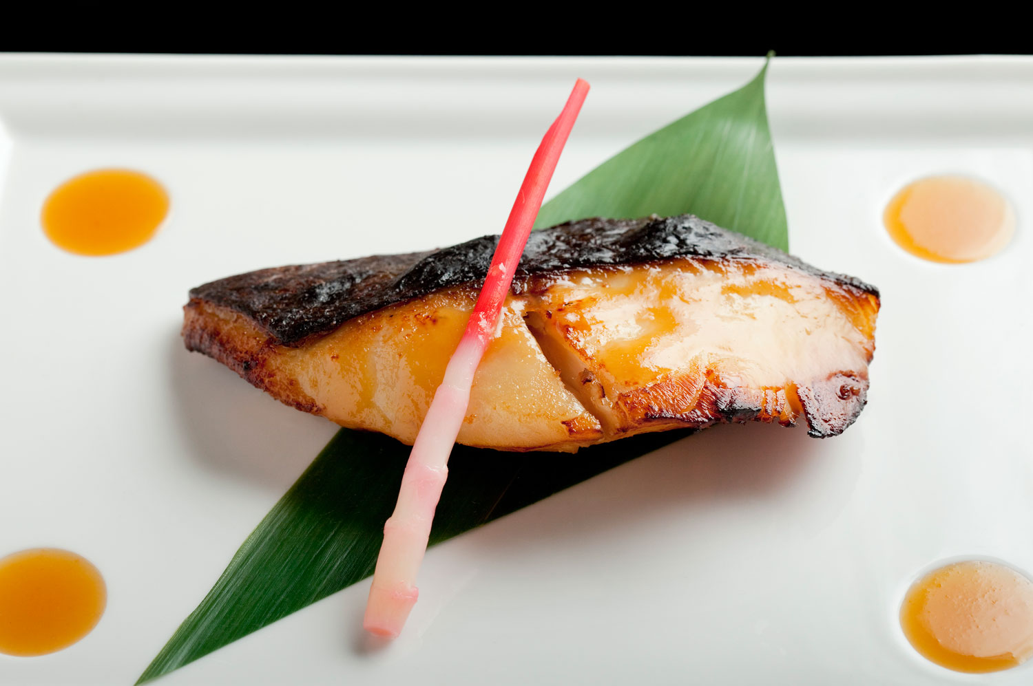 Nobu's signature black cod with sweet miso, photo courtesy of Caesars Palace.