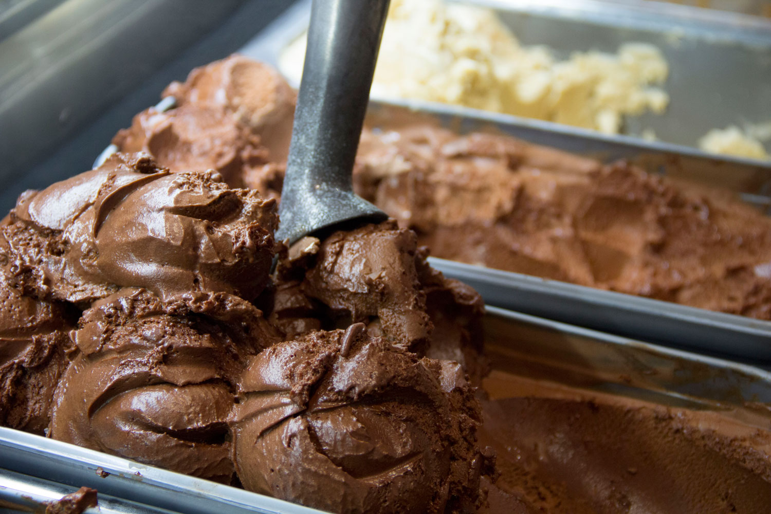 HEXX chocolate ice cream, photo by Adam Christopher Smith courtesy of HEXX.