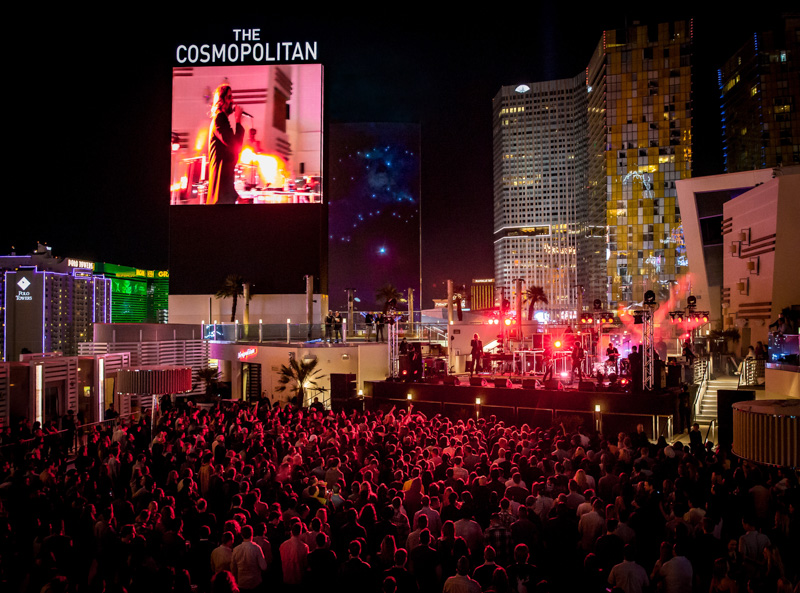 LAS VEGAS, NV - April 16, 2016: ***HOUSE COVERAGE*** MIKE SNOW performs at The Boulevard Pool at The Cosmopolitan of Las Vegas in Las vegas, NV on April 16, 2016. Credit: Erik Kabik Photography/ MediaPunch
