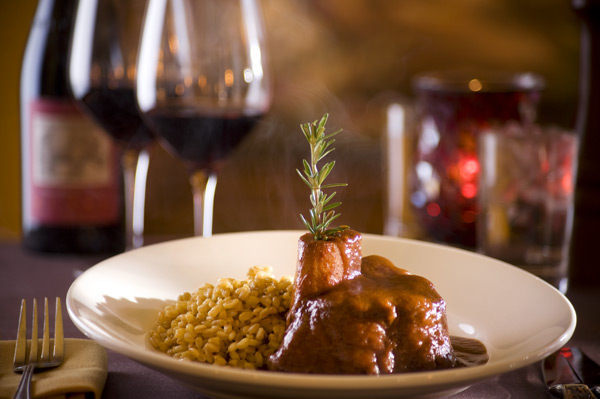 Osso Buco at Ferraro's, photo courtesy of Ferraro's.