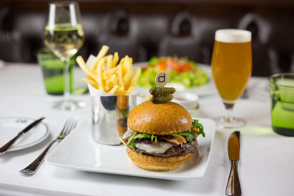 The Frenchie burger, photo courtesy of db Brasserie.