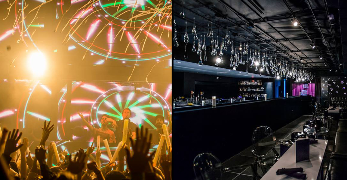 Marquee (left) knows how to party and Mingo (right) is sophisticated and posh. Photos courtesy of Marquee and Mingo.