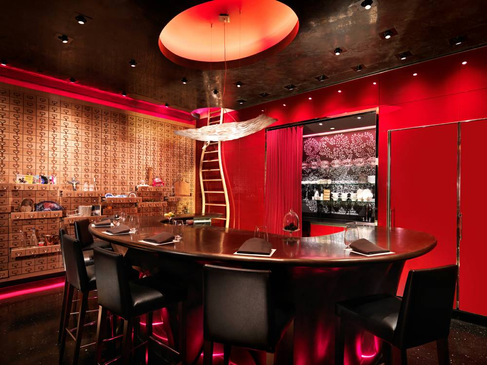 e by Jose Andres, photo courtesy of Las Vegas Weekly.
