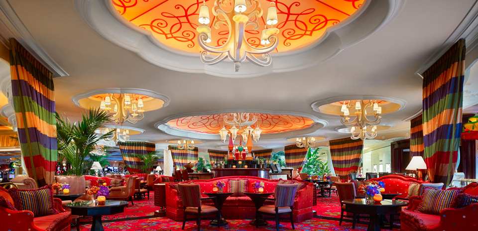 The place to drink for that little part of you that never left Wonderland. Ph oto courtesy Wynn Las Vegas.