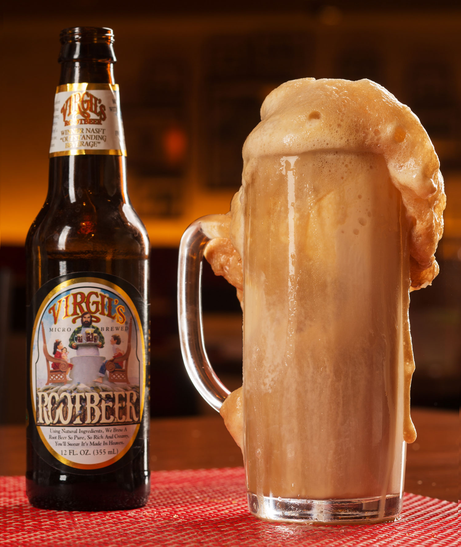 Siegel's 1941 serves classic root beer floats, photo courtesy of El Cortez.
