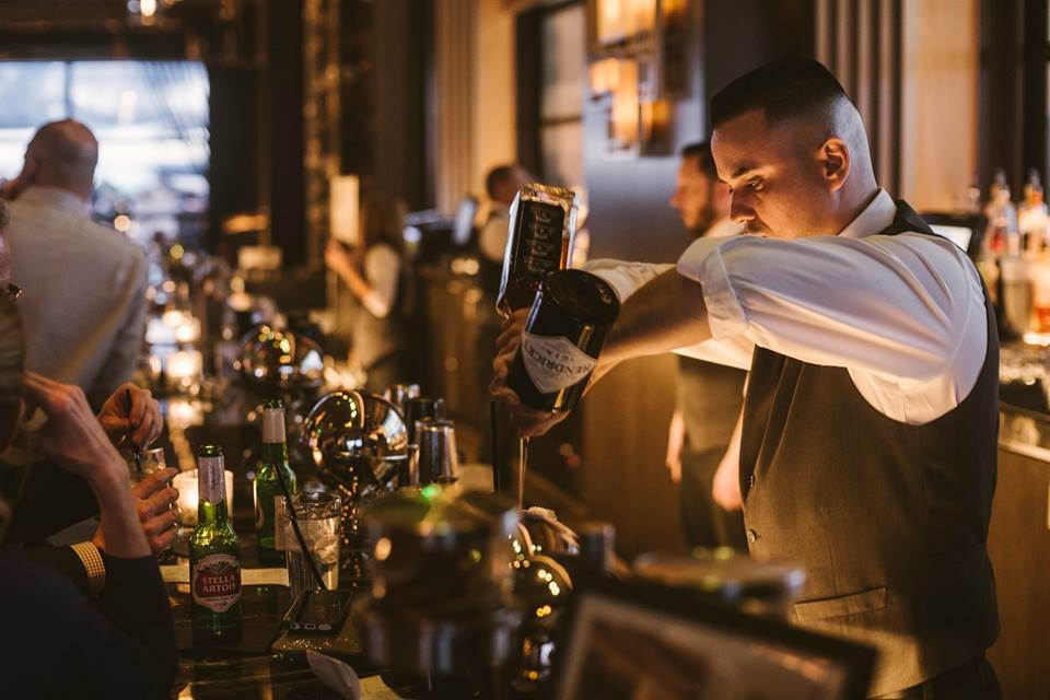 Magical mixology at Vista. Photo courtesy of Vista.