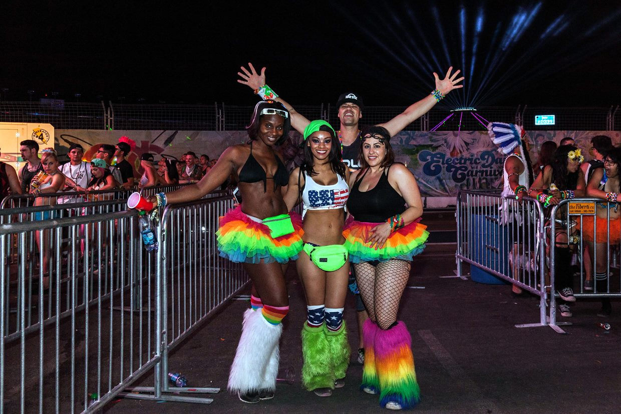 You can never go wrong with a tutu -- and they're good for EDC too. Photo courtesy of Alonzo Wright.