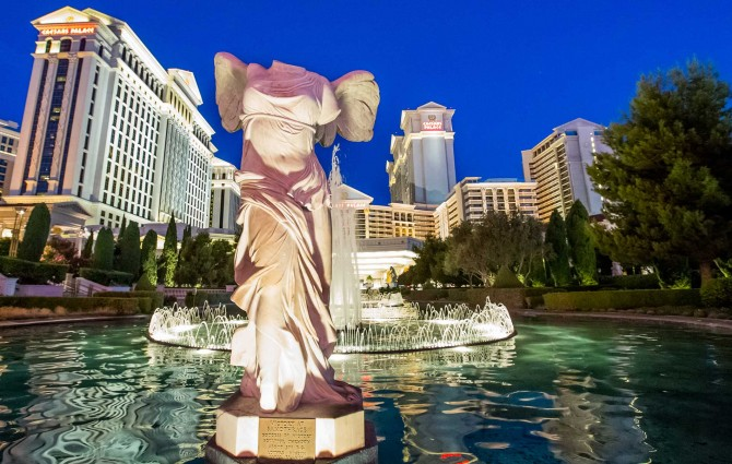 All hail, Caesars Palace: The iconic Las Vegas hotel celebrates its 50th anniversary
