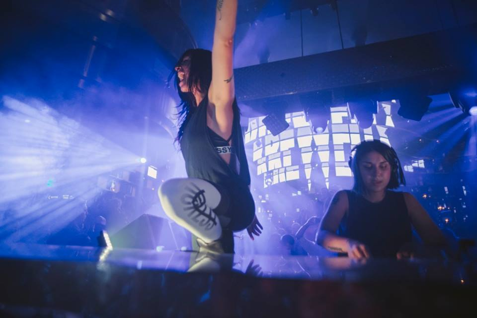 Krewella killing it at Omnia. Photo courtesy of Omnia.