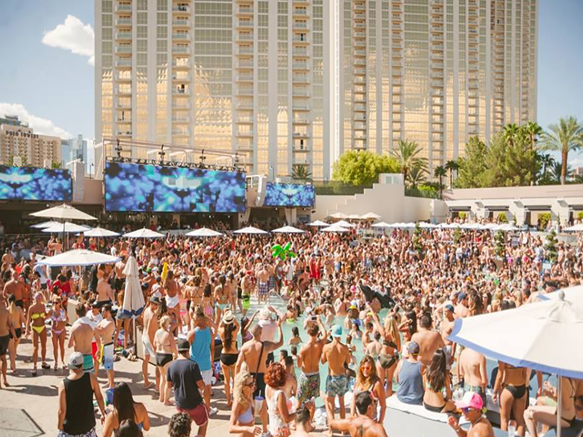 Wet your whistle at the best pool parties in vegas las for Pool and patio show las vegas