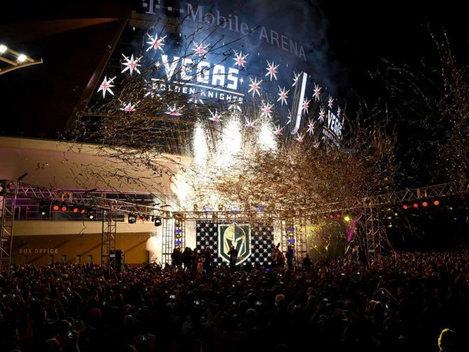 NHL hockey in Las Vegas: it's already working