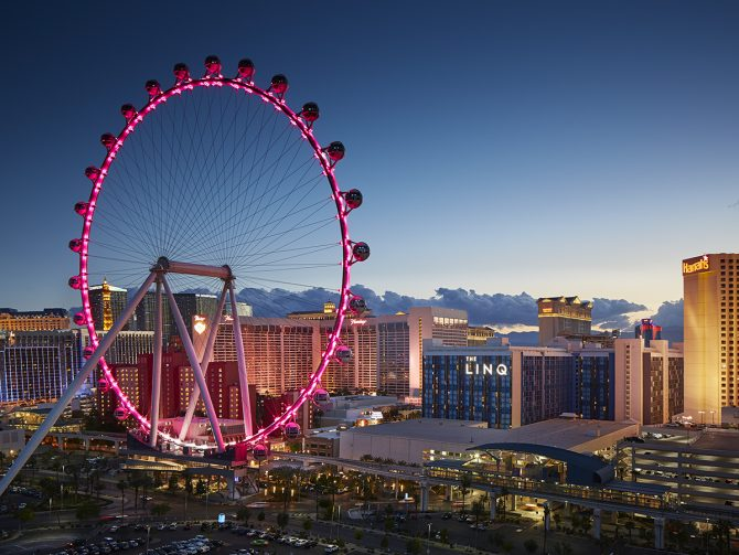 Take your love to new heights in Las Vegas