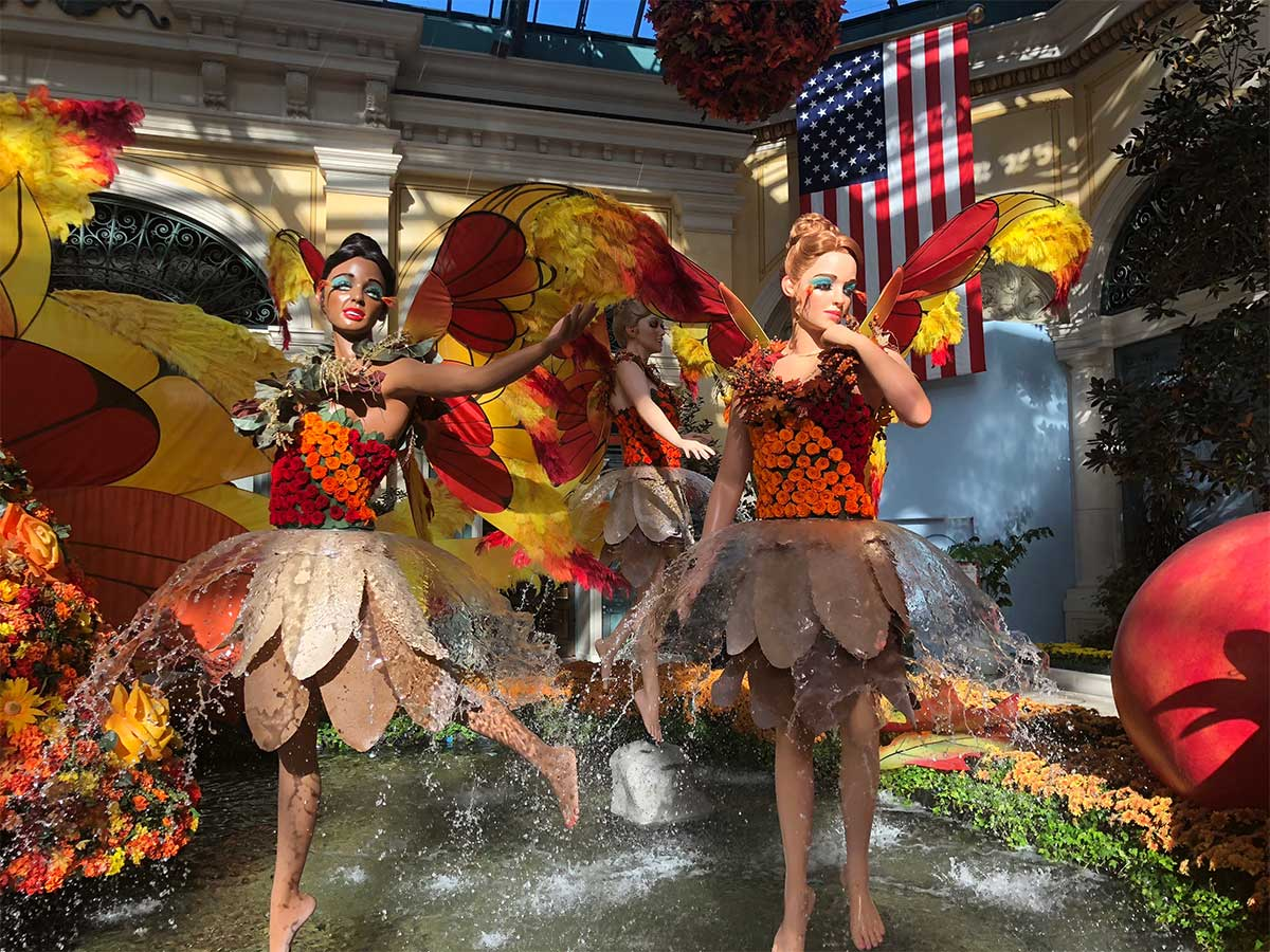 The Bellagio Conservatory transforms for fall | Las Vegas Blogs