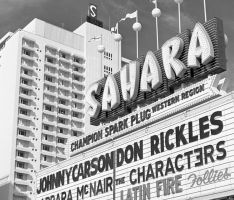 The Sahara, a Vegas icon, over the years