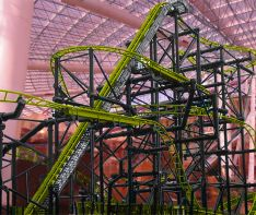 PHOTOS: Your crazy wait is almost over! Las Vegas roller coaster nears completion